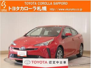 トヨタ プリウス A 4WD デモカー・トヨタセーフティセンス付