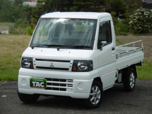 三菱 ミニキャブトラック Vタイプ 4WD 走行1万キロ台 社外アルミ
