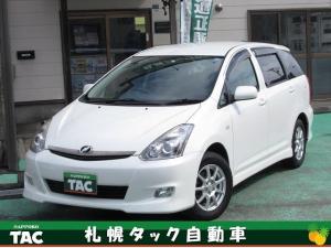 トヨタ ウィッシュ X エアロスポーツパッケージLエディション 4WD ナビ