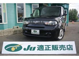 日産 キューブ 15X FOUR 4WD ナビ 切替4WD ワンセグ