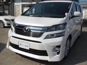 トヨタ ヴェルファイア 2.4Z 4WD HDDナビ 10.2インチリヤモニター