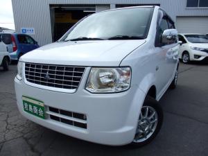 三菱 eKワゴン ジョイフィールド 4WD 4AT ホワイトパール シートヒーター メッキドアミラー キーレス 純正CD