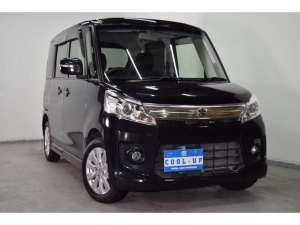 スズキ スペーシアカスタム XS 4WD 社外SDナビテレビ・両側パワー・本州仕入