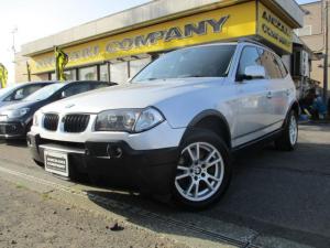 BMW X3 2.5i 4WD 社外ナビ ETC HIDライト