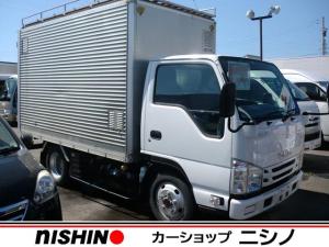 いすゞ エルフトラック フルフラットロー 1.5t常温箱車