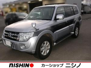 三菱 パジェロ ロング エクシード 4WD クルコン AW ナビ