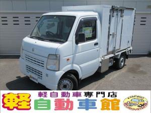 スズキ キャリイトラック 冷蔵冷凍車 マニュアル ABS 4WD