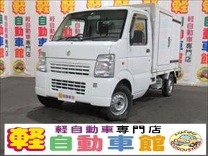 スズキ キャリイトラック 冷蔵冷凍車 エアコン パワステ マニュアル 4WD