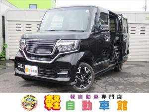 ホンダ N-BOXカスタム G・EXターボホンダセンシング ナビ ABS 4WD
