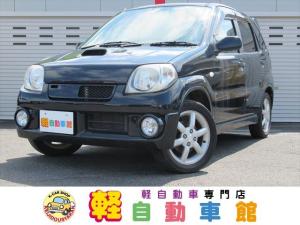 スズキ Keiワークス ターボ ナビTV ABS マニュアル車 4WD