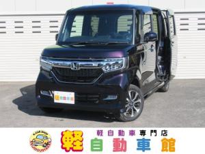 ホンダ N-BOXカスタム G・L ナビTV ABS パワスラドア エコアイドル 4WD スマキー