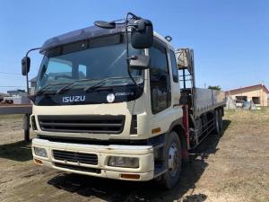 いすゞ ギガ  増t4段クレーンラジコン付 KL-CYZ51V3