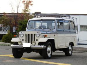 三菱 ジープ ワゴンタイプ J37 4×4 2600ガソリン 6人乗り オーバートップ5速
