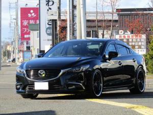 マツダ アテンザセダン XD Lパッケージ 4WD ディーゼルターボ 車高調 20インチ 黒革シート