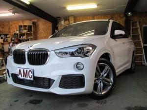 BMW X1 xDrive 20i Mスポーツ 本州仕入車 純正ナビ・バックカメラ・ETC インテリジェントセーフティ コンフォートアクセス アイドリングストップ 衝突被害軽減ブレーキアシスト 前後ソナー LEDヘッドライト 純正18AW