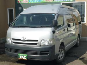 トヨタ ハイエースコミューター GL 15人 4WD パワスラ