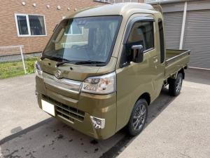 ダイハツ ハイゼットトラック ジャンボSAIIIt LED 4WD AT スマートアシスト付 キーレス ヒッチメンバー