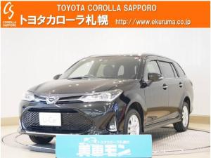 トヨタ カローラフィールダー 1.5G ダブルバイビー 4WD 1オーナー・メモリーナビ付