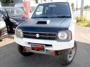 スズキ ジムニー 4WD ワイルドウインドターボ 前後社外バンパ- マフラー