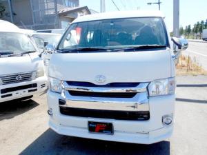 トヨタ ハイエースワゴン DX 4WD 2.7 10人乗り リアヒーター&クーラー LEDテール 4型フェイス スポイラー