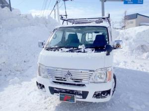 日産 キャラバン ロングDX 4WD 3.0DT キャリアー&はしご付 タイミングベルトチェーン