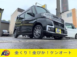 ダイハツ タント カスタムX トップエディションSAIII4WD事故無8ナビ