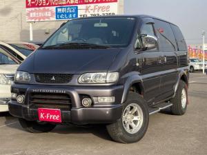 三菱 デリカスペースギア シャモニー 4WD ETC リヤフック牽引 リフトアップ