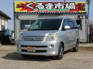 トヨタ ノア X リミテッド 4WD 両側電動スライドドア ナビ AW ETC 8名乗り AC オーディオ付 DVD CVT シルバー