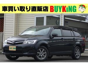 トヨタ カローラフィールダー 1.5G 4WD ワンオーナー 純正ナビ