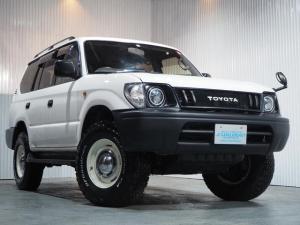 トヨタ ランドクルーザープラド TXリミテッド 4WD ナロー クラシックスタイル 丸目ライト BF A/T新品タイヤ DEANクロスカントリー16AW 寒冷地仕様車