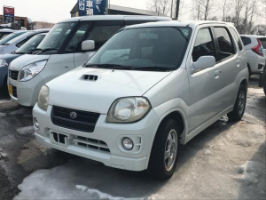 スズキ Keiスポーツ ベースグレード 4WD 軽自動車 ホワイト AT AC