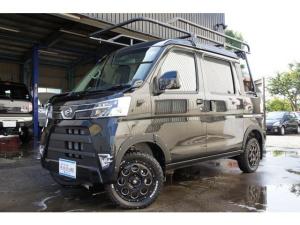 ダイハツ ハイゼットカーゴ デッキバンG SAIII 4WD リフトアップ ルーフキャリア 社外アルミ