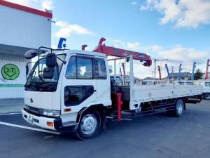日産ディーゼル コンドル  増トン クレーン車 3段ラジコン ワイドロング 積載5.6t 荷台内寸L602W238H37