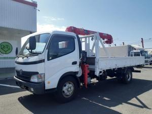 トヨタ ダイナトラック  クレーン車 4段 ワイド超ロング 積載3t 荷台内寸L447W210L30