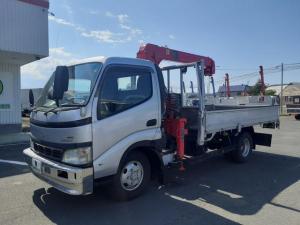 トヨタ トヨエース  クレーン車 3段 4WD ワイドロング 積載3t 荷台内寸L356W209H38