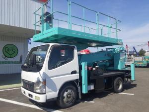三菱ふそう キャンター  高所作業車 スーパーデッキ 12m アイチ 9540h