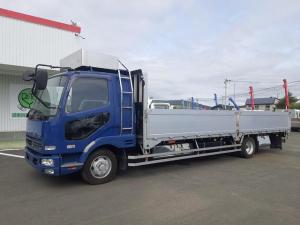 三菱ふそう ファイター  平ボディ ワイド超ロング エアサス 積載2.7t 荷台内寸L728W240H70 8t未満車