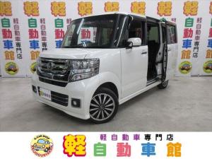 ホンダ N-BOXカスタム G・ターボLパッケージ 4WD ナビTV ABS 両パワスラ