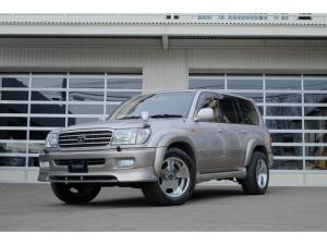 トヨタ ランドクルーザー100 VXリミテッド 1ナンバー変更済 1ナンバー変更済/ガナドールマフラー/ロデオドライブ19インチ/ETC/純正ナビ