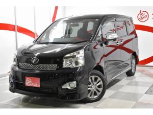 トヨタ ヴォクシー Z 4WD 社外SDナビ フルセグTV Bluetoothオーディオ HIDヘッドライト ビルトインETC 純正16インチアルミホイール ハーフレザーシート 両面電動スライドドア