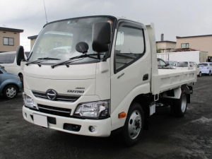 i日野 デュトロ 1.8t 強化ダンプ 全低床 4WD