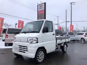 三菱 ミニキャブトラック V-LTD 切替式 4WD 5速マニュアル 社外オーディオ
