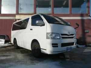 トヨタ レジアスエースバン ロングDX 4WD 寒冷地仕様 タイミングベルト交換済