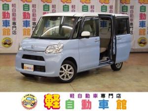 ダイハツ タント X ホワイトアクセントSAIII ナビ・TV ABS 4WD