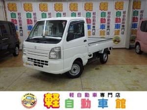 スズキ キャリイトラック KCパワステ マニュアル車 4WD