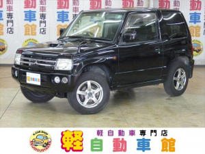 三菱 パジェロミニ アクティブフィールドエディション ターボ ABS 4WD ワンセグTV・HDDナビ