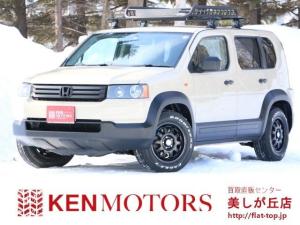 ホンダ クロスロード HDDナビエディション 4WD ベージュ全塗装済 ホワイトレタータイヤ