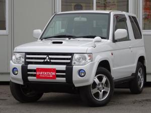 三菱 パジェロミニ VRターボ 4WD 4AT ETC HID スタッドレス積