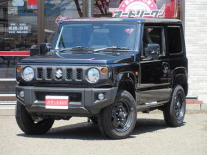 スズキ ジムニー XL ブレーキサポート付 4WD ターボ オートエアコン 純正フロアマット サイドバイザー