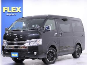トヨタ ハイエースワゴン GL 内装架装Ver1/BIG-Xドラレコ FLEXオリジナルDelf04 17in